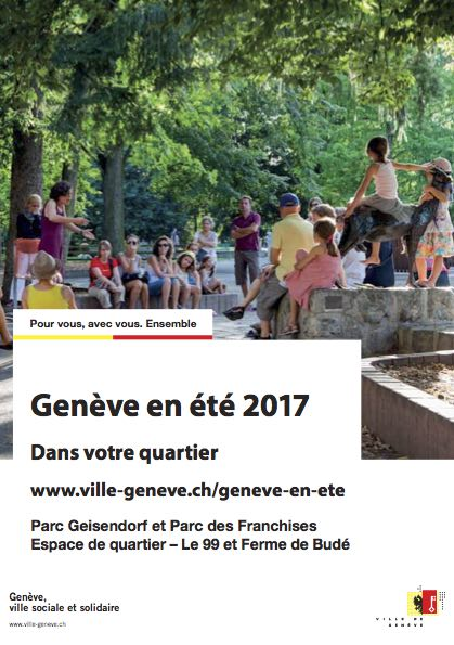 Programme des activités 2017