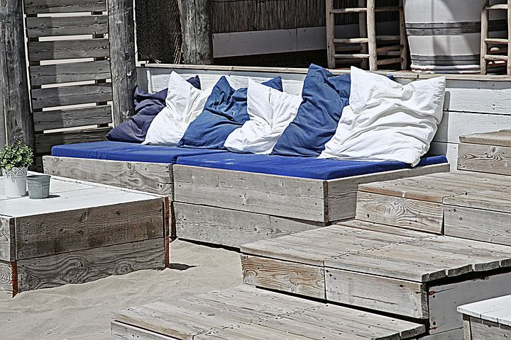 Coussins terrasse
