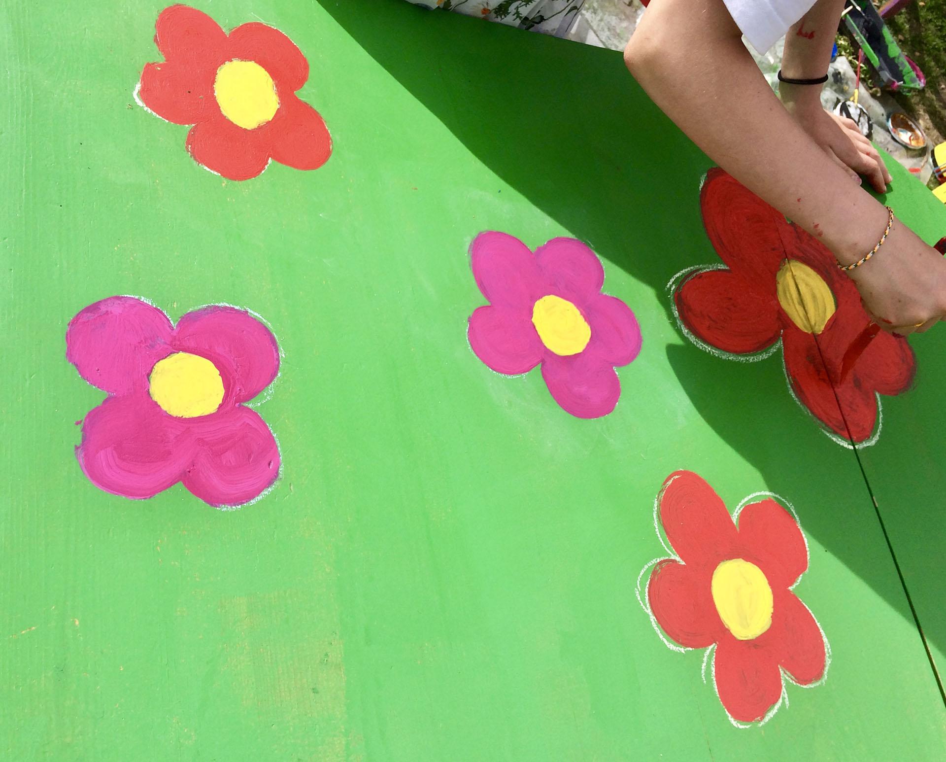 Atelier peinture sur meubles